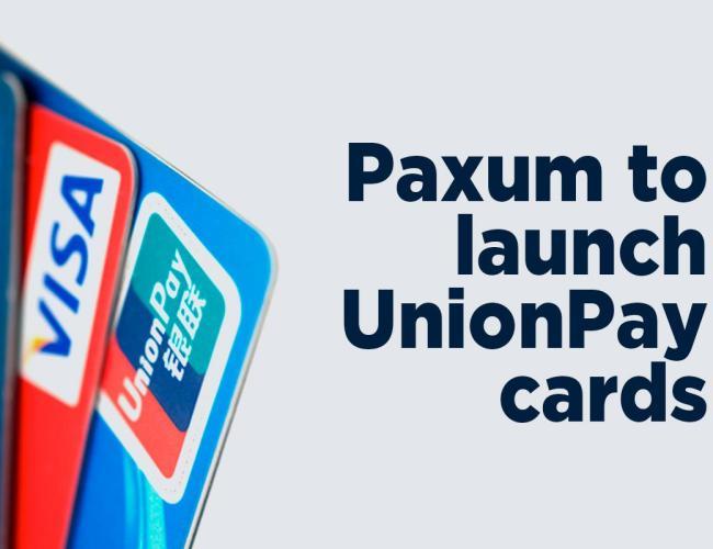 Paxum Releases New Unionpay International Card