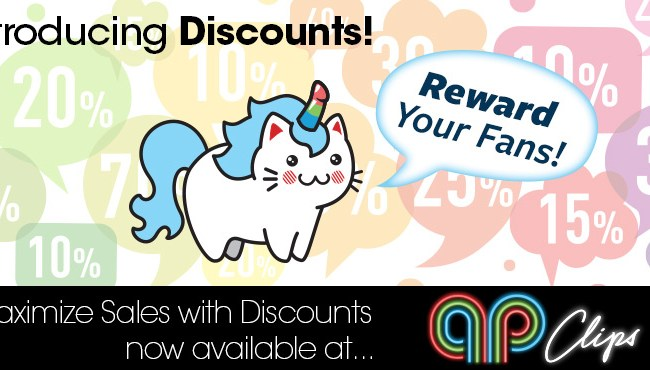 APClips adds discount features