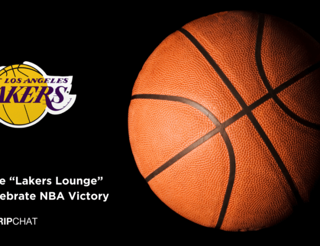 """Stripchat offers LA Lakers a special """"Lakers Lounge"""" to celebrate NBA championship"""