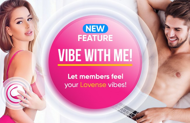 """Bongacams Adds Lovense """"Vibe With Me"""" Feature"""