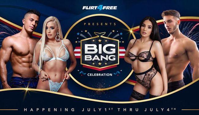 "Flirt4Free ""Big Bang"" Contest (July 1-4, 2021)"