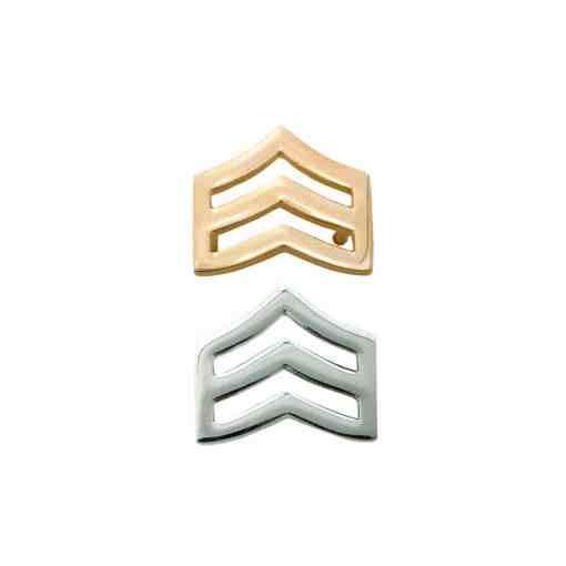 Sergeant Chevron Pin