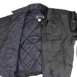 Tact Squad Spring Fall Bomber Style Jacket - Black
