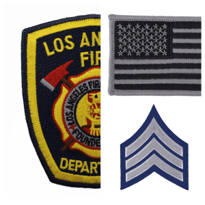 Emblems, Patches and Flags