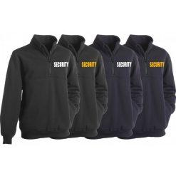 First Class Security Fleece Job Shirt with Zipper