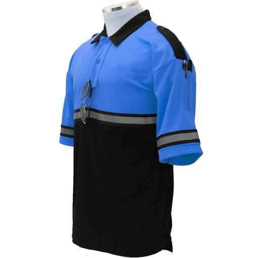 Two-Tone Bike Patrol Shirt with Zipper Pocket TT03