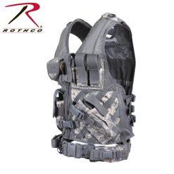 Rothco Cross-Draw MOLLE ACU Digital Camo Tactical Vest
