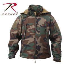 Rothco Special Ops Tactical Soft Shell Jacket Woodland Camo 9906-HR1