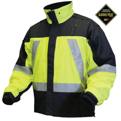 Blauer Supershell® Jacket Gore-Tex® - Hi-Vis Yellow Dark Navy 9970V