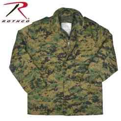 Rothco M-65 Camo Field Jacket