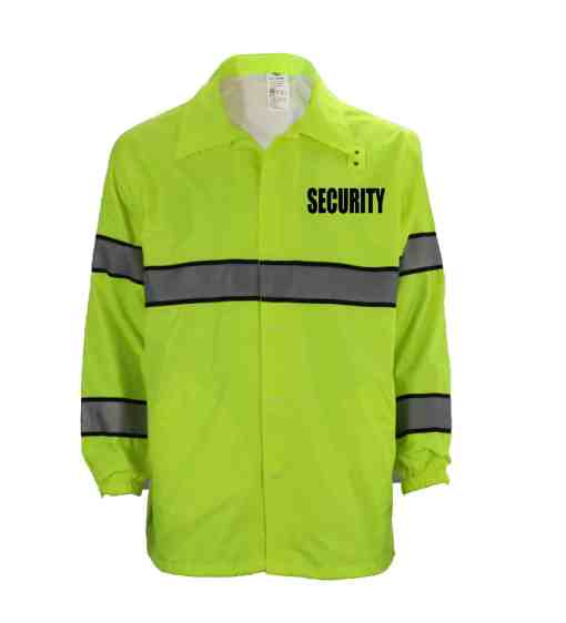 Security First Class High Visibility Windbreaker