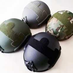 Skarr Armor Kevlar NIJ IIIA Bulletproof + V50 Fragproof MICH Helmet SWAT