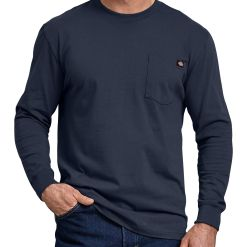 Dickies Long-Sleeve Heavyweight Crew Neck Tee WL450