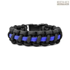 Echo Tactical Thin Blue Line 550 Paracord Survival Bracelet
