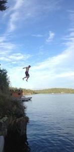 Cliff Jump - men's getaway