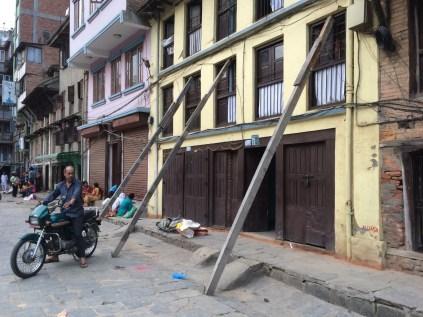 Earthquake fortifications in Kathmandu