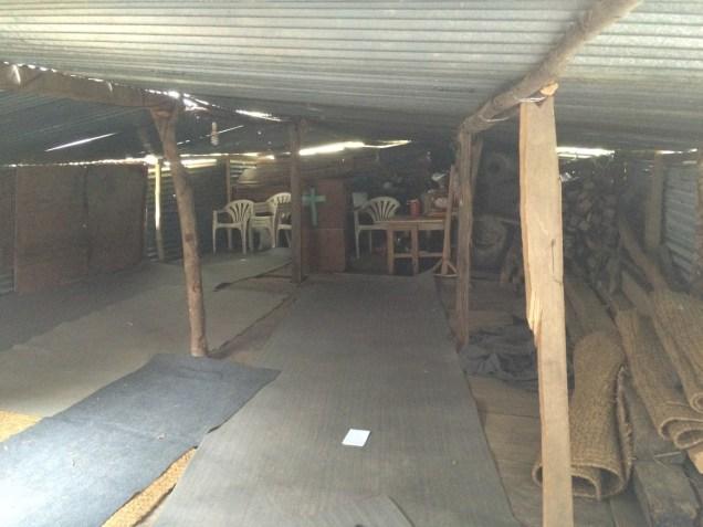 Gatlang Vineyard's current makeshift premises