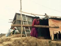 Rebuilding in Kotgaon