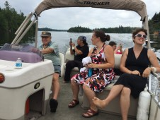 A boat tour with Captain John