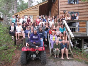 Women's Retreat 2017 @ The Rademaker's Cabin | Clearwater Bay | Ontario | Canada