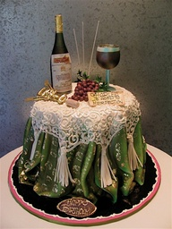 World Class Weddings cake-for-wine-lovers Fabulous Cakes!