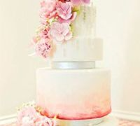 World Class Weddings watercolor-cake5 Watercolor Weddings