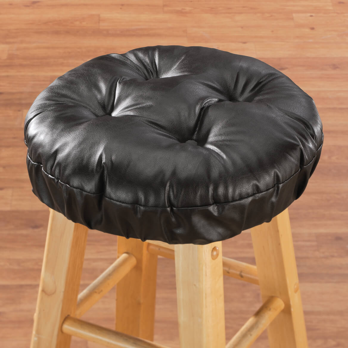 faux leather chair pads design types bar stool cushion walter drake