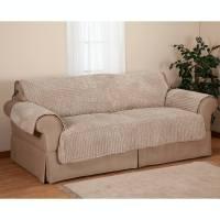 Chenille Loveseat Furniture Protector - Sofa Protector ...