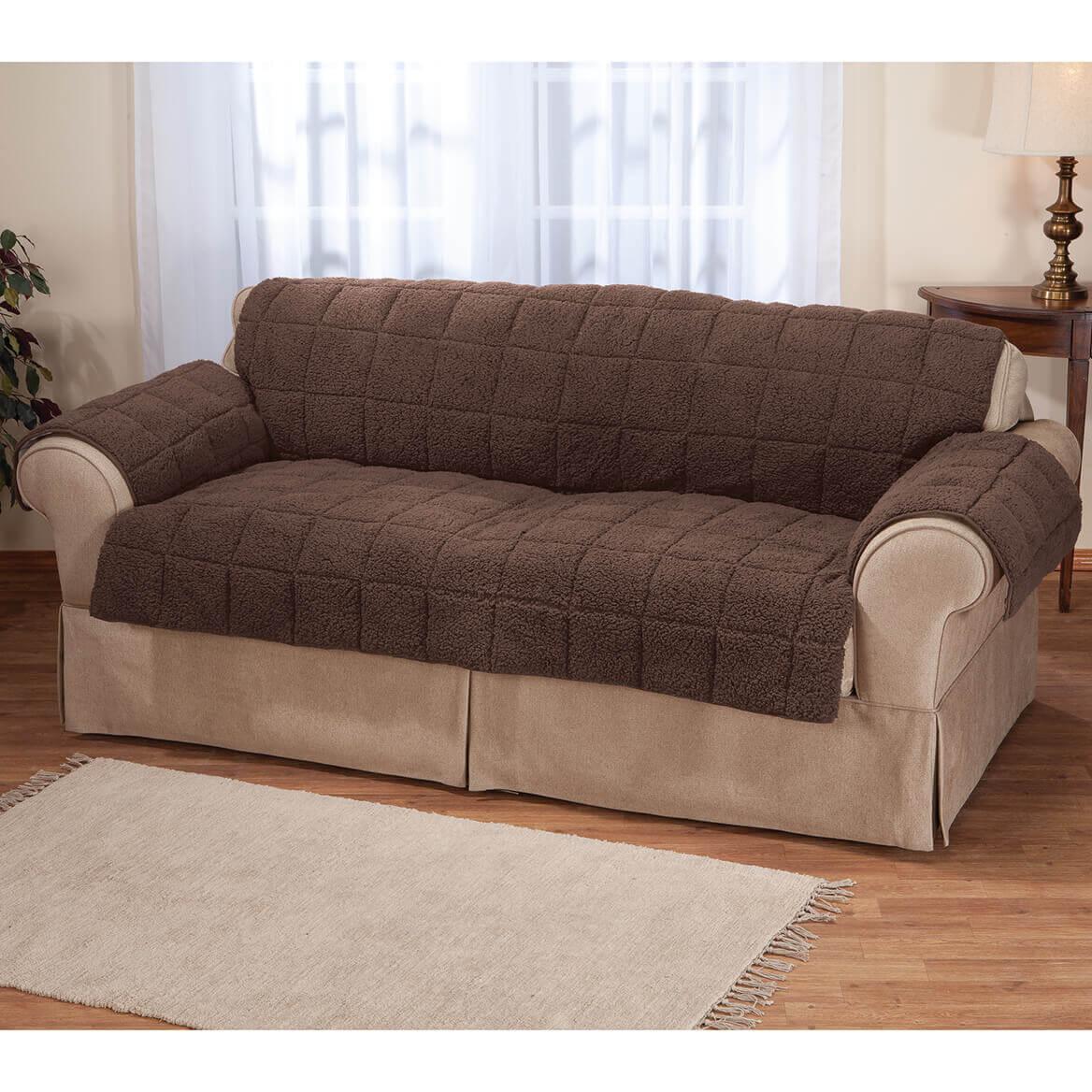 waterproof sofa protector craftsman style table plans sherpa by oakridge walter drake