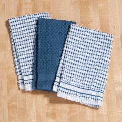 Terry Kitchen Towels Island Sale Set Of 3 Cotton Walter Drake