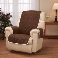 Buy Chair Covers Cheap Real Leather Dining Room Chairs Deluxe Reversible Waterproof Recliner Cover Walter