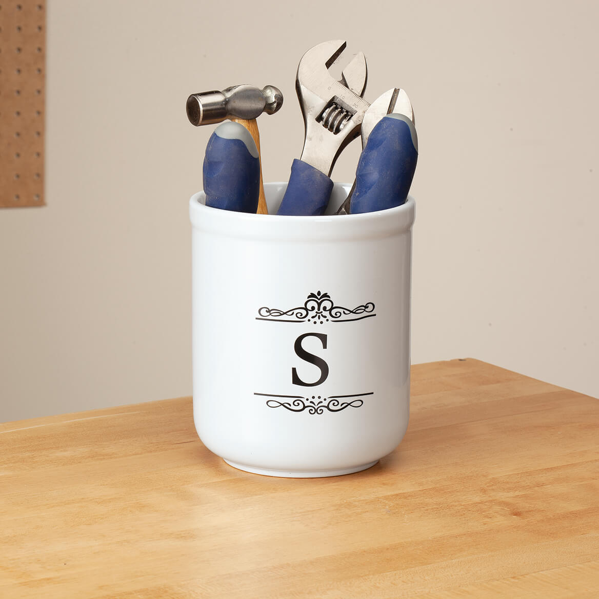 kitchen crocks cost of new decor walter drake personalized white utility crock 358303
