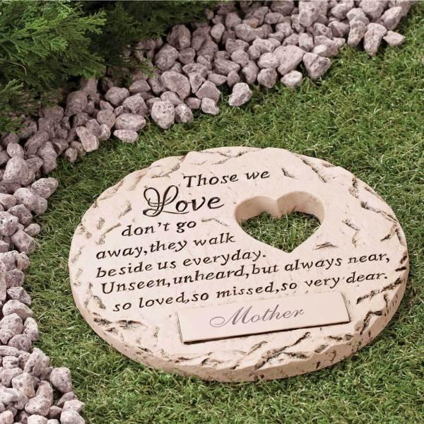 "Personalized "" Love"" Memorial Stone - Walter Drake"