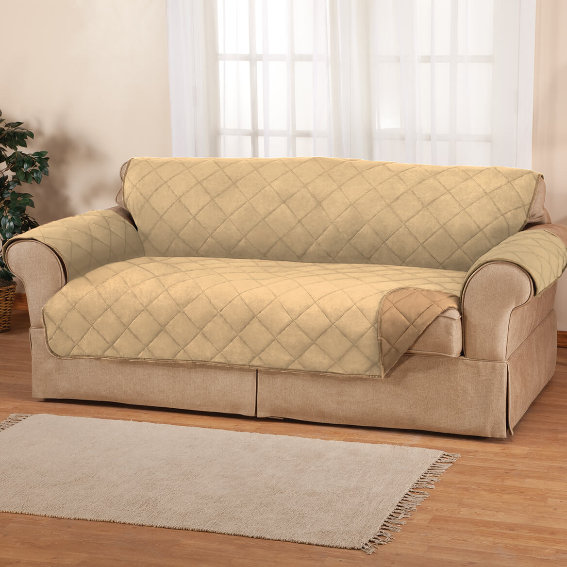 how to clean suede sofa covers thomasville sofas and chairs naomi microfiber cover by oakridge walter drake