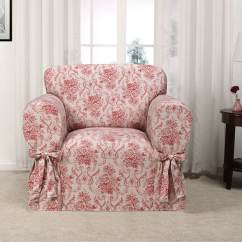 Pink Slipcover Chair Dining Chairs Nailhead Trim Kathy Ireland Chateau Recliner Cover Walter Drake 1 Read Reviews Write A Review