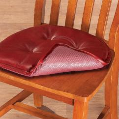 Faux Leather Gripper Chair Cushions Baby High Chairs Australia St Germaine Pad W