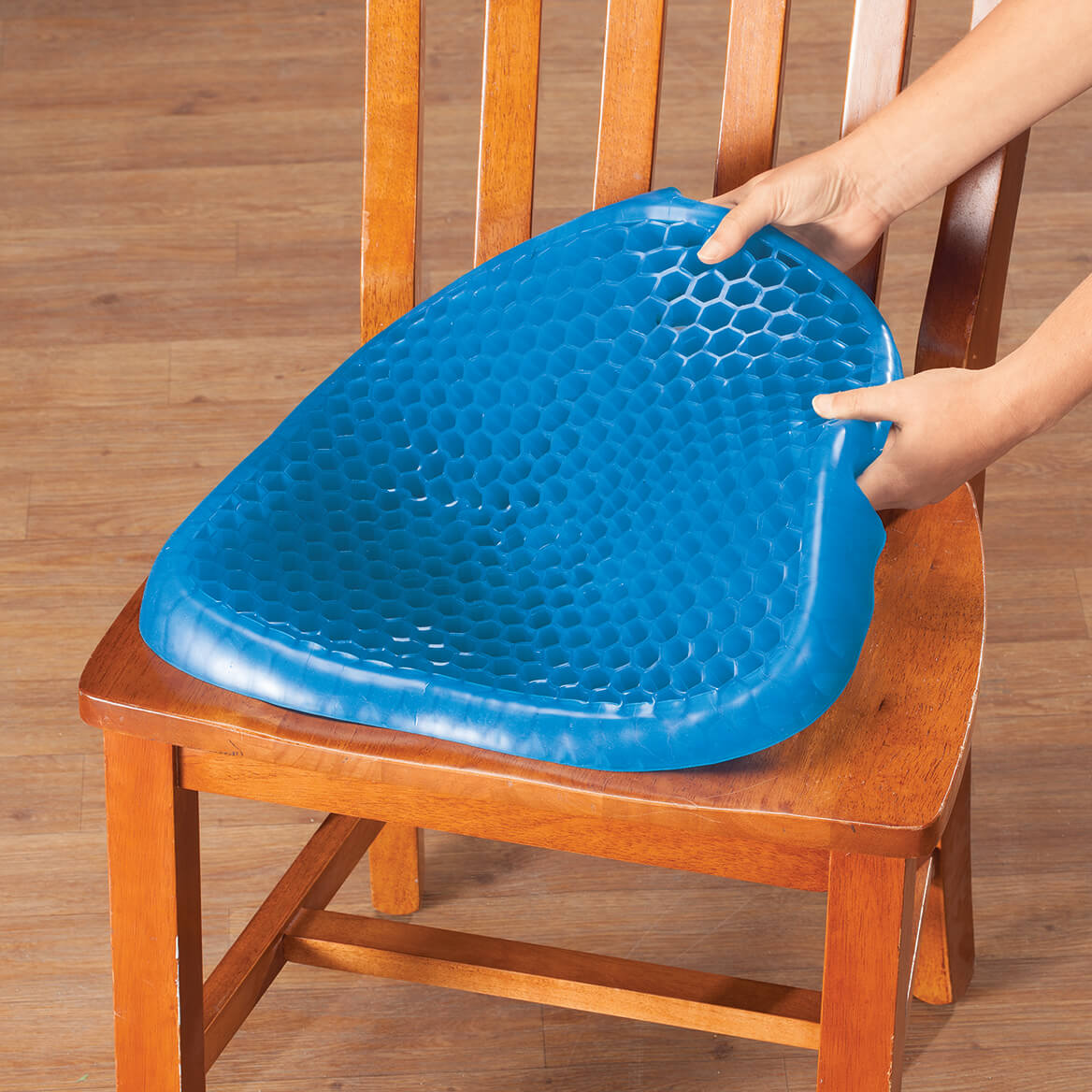 gel cushion for chair clear acrylic rail compact seat walter drake honeycomb with cover by livingsure 365962
