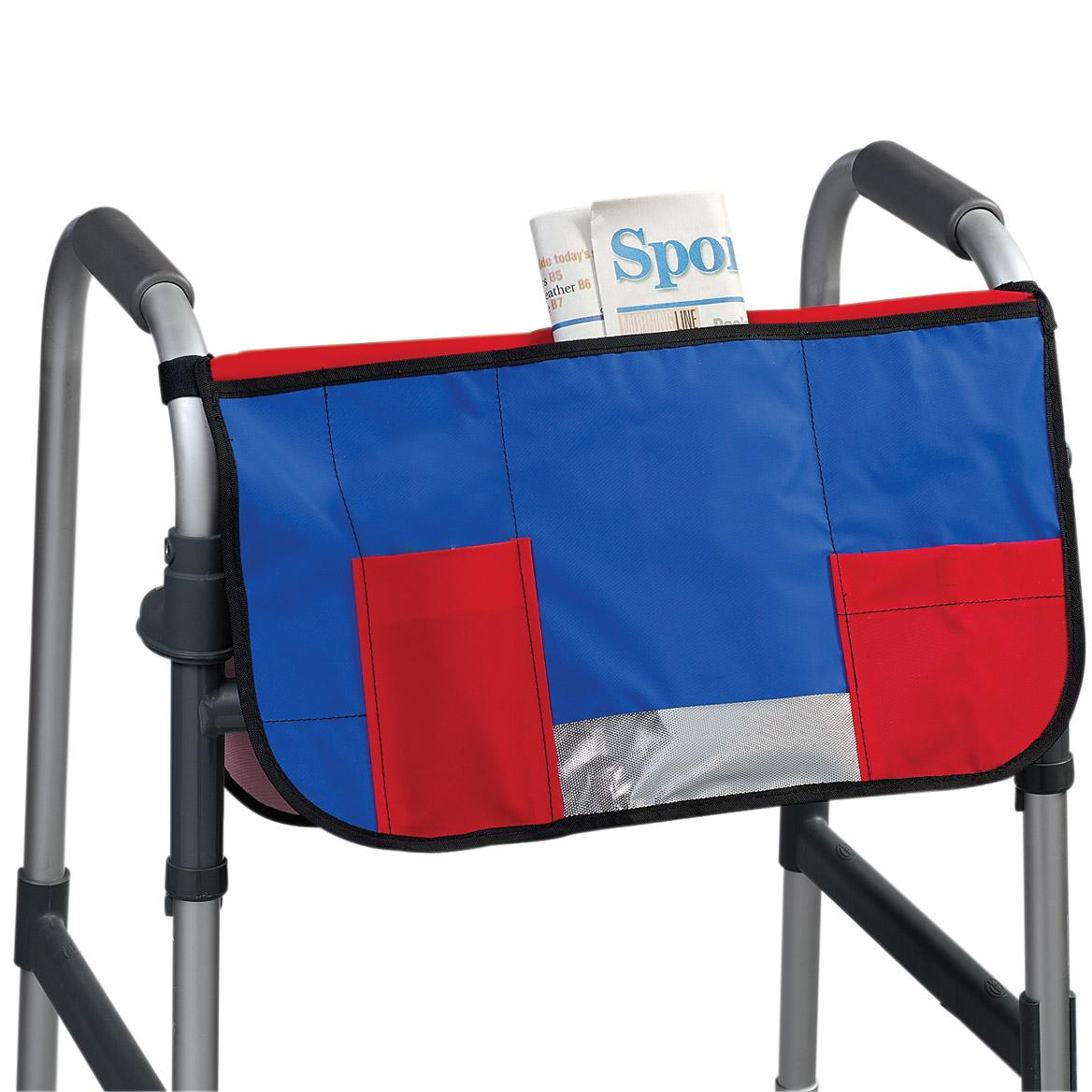 wheelchair drake elevator walker bag
