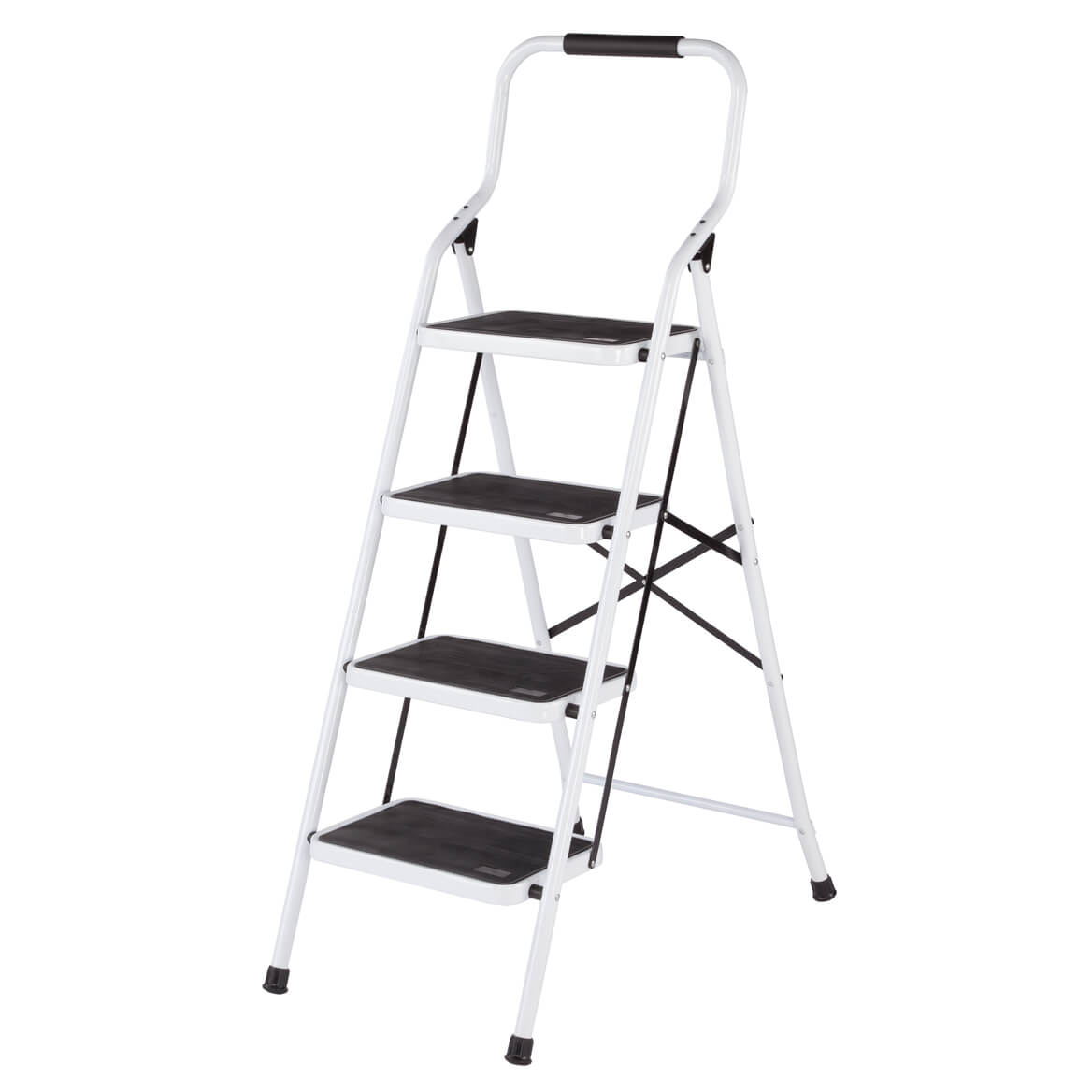 Folding Four Step Ladder By Livingsure