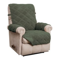 Christmas Chair Covers Ireland Reclining Chaise Lounge Furniture Protectors Pads Walter Drake Hudson Waterproof Sherpa Recliner Protector 365402