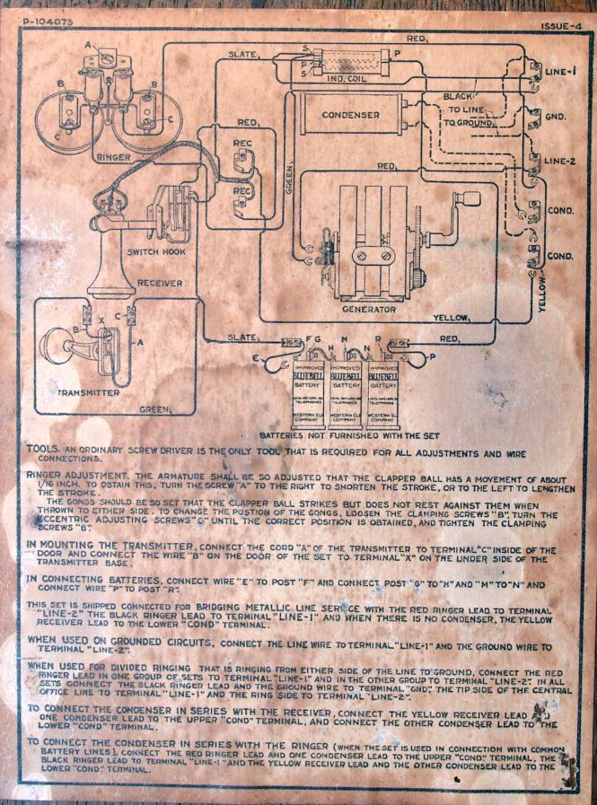 Images of Old Telephone Wiring Diagram - Wiring diagram schematic