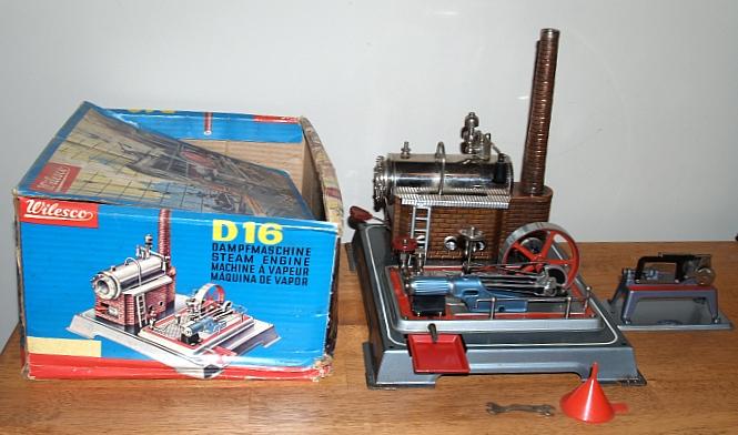 Wilesco D16 Toy Steam Engine