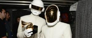 Daft Punk at the 2014 Grammy Awards