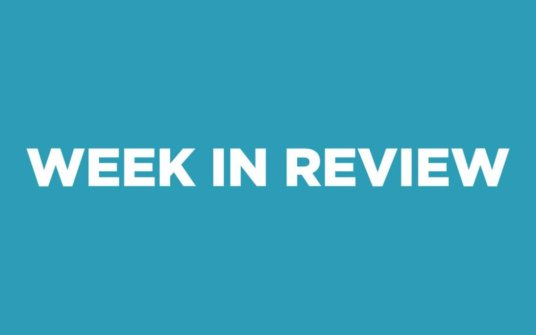 Week In Review 1/12/2015