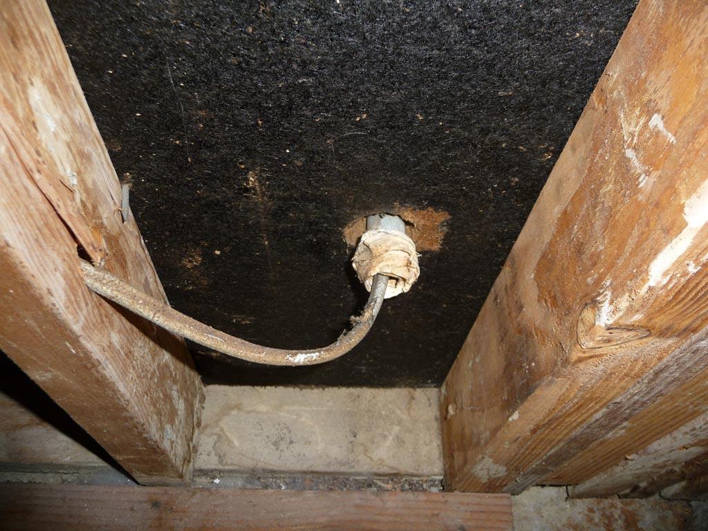 Wiring Through Exterior Wall