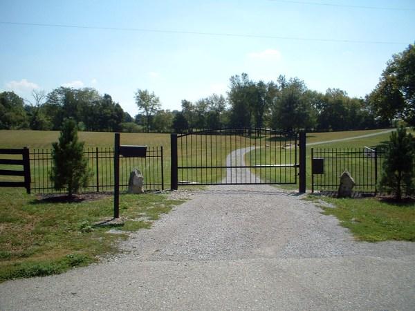 Estate Swing 12 Foot Long Single Driveway Gate In Usa