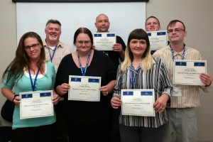 Graduates of WorkSmart Network Manufacturing Core Skills Boot Camp_Baraboo_July 2015