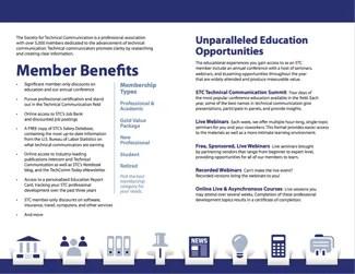 2018 STC Membership flyer page 1