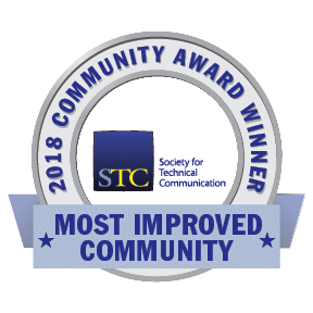 Transparent graphic of STC CAA 2018 Most Improved Community (MIC) Award