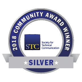 Transparent graphic of STC CAA 2018 Silver Award
